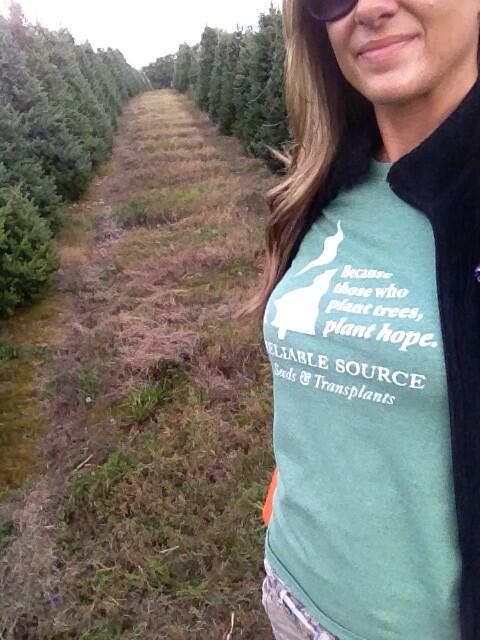 Christmas trees, one of the more unusual things grown on farms.
