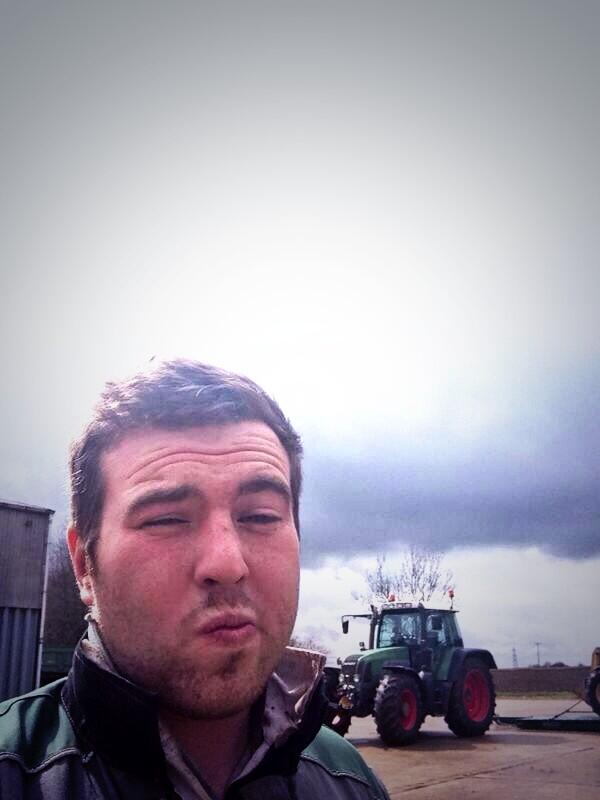 Tractor selfie